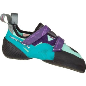 マッドロック レディース シューズ・靴 クライミング Lyra Climbing Shoe Teal/Purple|fermart-shoes