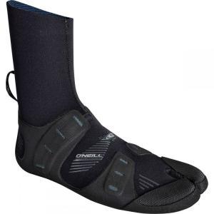オニール O'Neill メンズ シューズ・靴 サーフィン Mutant 3mm Split Toe Boots Black/Graphite|fermart-shoes
