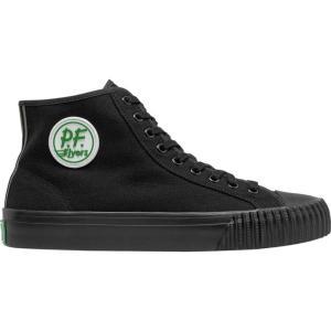 ピーエフフライヤー メンズ スニーカー シューズ・靴 Sandlot Center Hi Shoes Black|fermart-shoes