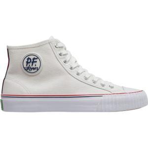 ピーエフフライヤー メンズ スニーカー シューズ・靴 Center Hi Shoe White|fermart-shoes