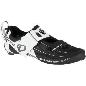 パールイズミ レディース トライアスロン シューズ・靴 Tri Fly Elite V6 Shoe White/Silver|fermart-shoes
