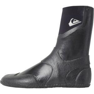 クイックシルバー メンズ シューズ・靴 サーフィン Neogoo 3mm Split Toe Booties Black|fermart-shoes