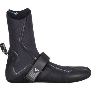 ロキシー Roxy レディース シューズ・靴 サーフィン Performance 3.0mm Split Toe Boot Black|fermart-shoes