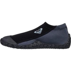 ロキシー Roxy レディース シューズ・靴 サーフィン Prologue 1.0mm Round Toe Reef Boot True Black|fermart-shoes