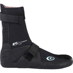 リップカール Rip Curl レディース シューズ・靴 サーフィン Flash Bomb 3mm Split Toe Bootie Black|fermart-shoes