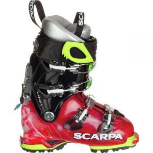 スカルパ レディース シューズ・靴 スキー・スノーボード Freedom SL Alpine Touring Boot Scarlet/White|fermart-shoes