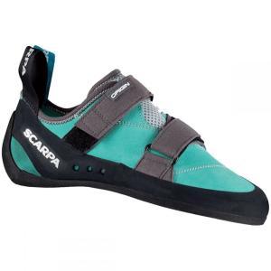 スカルパ レディース シューズ・靴 クライミング Origin Climbing Shoe Green Blue/Smoke fermart-shoes