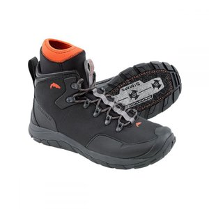 シムズ メンズ シューズ・靴 釣り・フィッシング Intruder Felt Boots Gunmetal|fermart-shoes