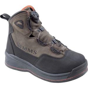 シムズ メンズ シューズ・靴 釣り・フィッシング Headwaters Boa Felt Boots Dark Olive|fermart-shoes