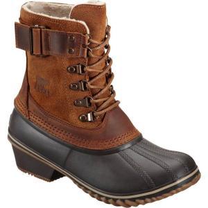 ソレル レディース ブーツ シューズ・靴 Winter Fancy Lace II Boot Elk/Grizzly Bear|fermart-shoes