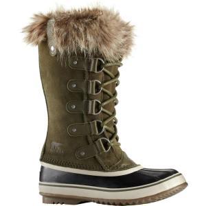ソレル レディース ブーツ シューズ・靴 Joan of Arctic Boot Nori/Dark Stone|fermart-shoes
