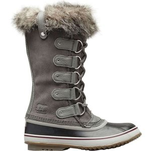 ソレル レディース ブーツ シューズ・靴 Joan of Arctic Boot Quarry/Black|fermart-shoes
