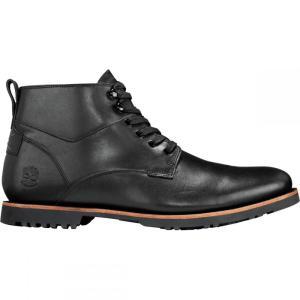 ティンバーランド Timberland メンズ ブーツ シューズ・靴 Kendrick Waterproof Chukka Boots Black Full Grain|fermart-shoes