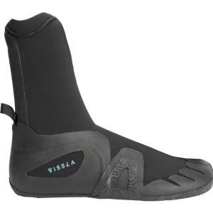ヴィスラ Vissla メンズ シューズ・靴 サーフィン The 7 Seas 5mm Round Toe Booties Black|fermart-shoes