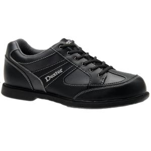 デクスター メンズ シューズ・靴 ボウリング Dexter Pro Am II Left Hand Bowling Shoes Black/Grey|fermart-shoes