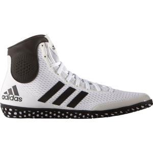 アディダス メンズ シューズ・靴 レスリング adidas Tech Fall Wrestling Shoes Wht/Blk|fermart-shoes