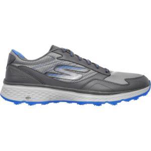 スケッチャーズ メンズ シューズ・靴 ゴルフ GO GOLF Fairway Golf Shoes Charcoal/Blue|fermart-shoes