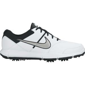 ナイキ メンズ シューズ・靴 ゴルフ Durasport 4 Golf Shoes White/Metallic Silver|fermart-shoes