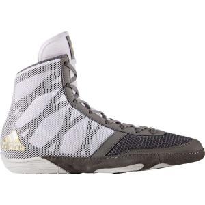 アディダス adidas メンズ シューズ・靴 レスリング Pretereo III Wrestling Shoes White/Grey|fermart-shoes