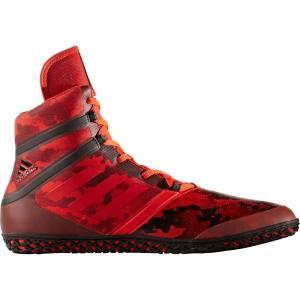 アディダス adidas メンズ シューズ・靴 レスリング Impact Wrestling Shoes Red/Black|fermart-shoes