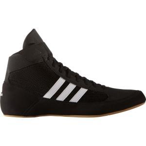 アディダス adidas メンズ シューズ・靴 レスリング HVC 2 Wrestling Shoes Blk/Wht|fermart-shoes