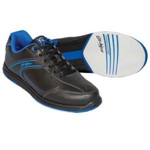 ストライクフォース Strikeforce メンズ シューズ・靴 ボウリング KR Flyer Wide Bowling Shoes Black/Blue fermart-shoes