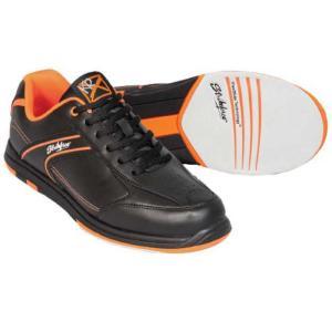 ストライクフォース メンズ シューズ・靴 ボウリング KR Strikeforce Flyer Bowling Shoes Black/Orange|fermart-shoes