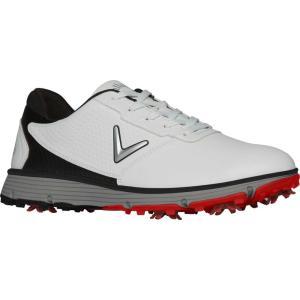 キャロウェイ メンズ シューズ・靴 ゴルフ Balboa TRX Golf Shoes Black/White|fermart-shoes