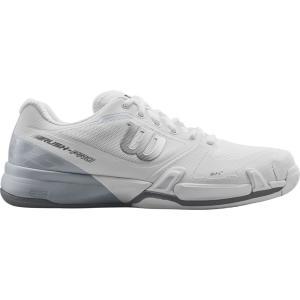 ウィルソン メンズ シューズ・靴 テニス Rush Pro 2.5 Tennis Shoes Grey|fermart-shoes