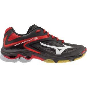ミズノ Mizuno レディース シューズ・靴 バレーボール Wave Lightning Z3 Volleyball Shoes Black/Red fermart-shoes