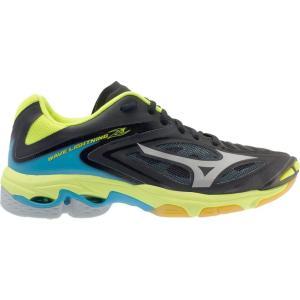 ミズノ Mizuno レディース シューズ・靴 バレーボール Wave Lightning Z3 Volleyball Shoes Black/Yellow fermart-shoes