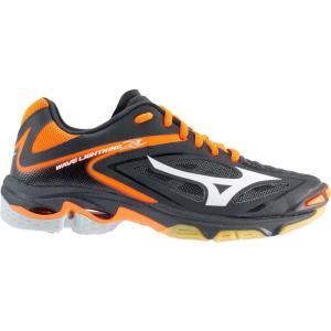 ミズノ Mizuno レディース シューズ・靴 バレーボール Wave Lightning Z3 Volleyball Shoes Black/Orange fermart-shoes