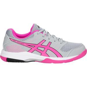 アシックス ASICS レディース シューズ・靴 バレーボール GEL-Rocket 8 Volleyball Shoes Grey/Pink fermart-shoes