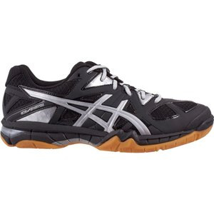 アシックス レディース シューズ・靴 バレーボール ASICS GEL-Tactic Volleyball Shoes Black/Silver|fermart-shoes