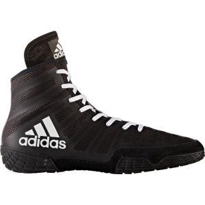 アディダス adidas メンズ シューズ・靴 レスリング adizero Varner Wrestling Shoes Black/White|fermart-shoes
