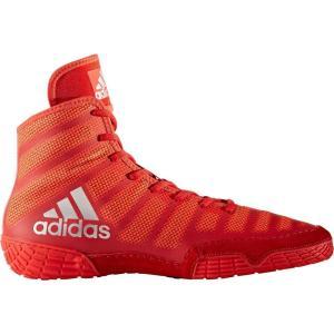 アディダス adidas メンズ シューズ・靴 レスリング adizero Varner Wrestling Shoes Red/Silver|fermart-shoes