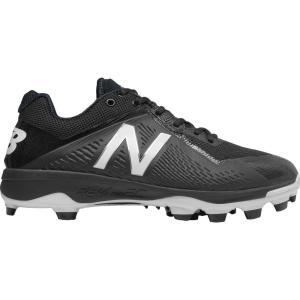 ニューバランス メンズ シューズ・靴 野球 New Balance 4040 V4 TPU Baseball Cleats Black/Black|fermart-shoes