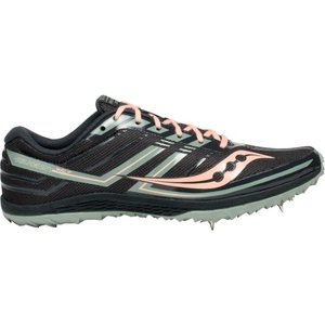 サッカニー Saucony レディース シューズ・靴 陸上 Kilkenny XC Cross Country Shoes Black/Pink|fermart-shoes