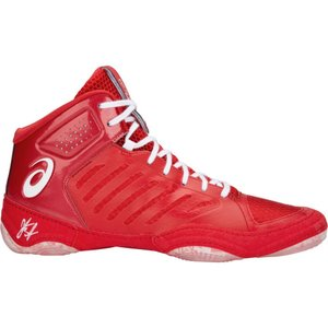 アシックス ASICS メンズ シューズ・靴 レスリング JB Elite V3 Wrestling Shoes Red/White|fermart-shoes