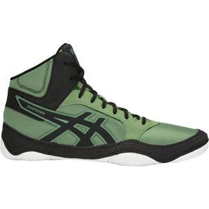 アシックス ASICS メンズ シューズ・靴 レスリング Snapdown 2 Wrestling Shoes Green/Black|fermart-shoes