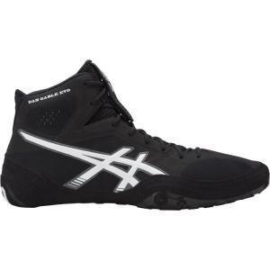 アシックス ASICS メンズ シューズ・靴 レスリング Dan Gable EVO Wrestling Shoes Black/White|fermart-shoes