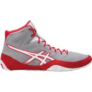 アシックス ASICS メンズ シューズ・靴 レスリング Dan Gable EVO Wrestling Shoes Grey/Red|fermart-shoes