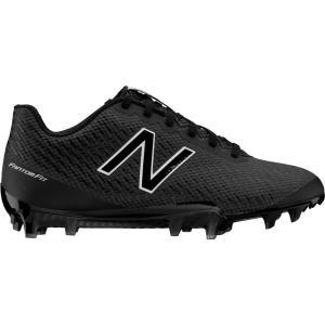 ニューバランス New Balance レディース シューズ・靴 ラクロス Burn X Lacrosse Cleats Black/Black|fermart-shoes
