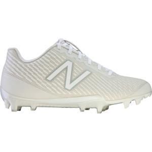 ニューバランス New Balance レディース シューズ・靴 ラクロス Burn X Lacrosse Cleats White/White|fermart-shoes