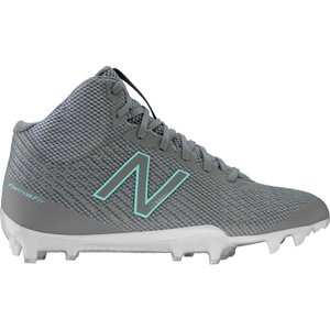 ニューバランス New Balance レディース シューズ・靴 ラクロス Burn X Mid Lacrosse Cleats Grey/Grey|fermart-shoes