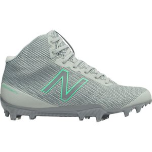 ニューバランス New Balance レディース シューズ・靴 ラクロス Burn X Mid Lacrosse Cleats Grey/Green|fermart-shoes