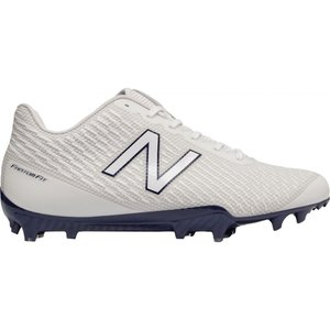 ニューバランス New Balance メンズ シューズ・靴 ラクロス Burn X Lacrosse Cleats White/Blue|fermart-shoes