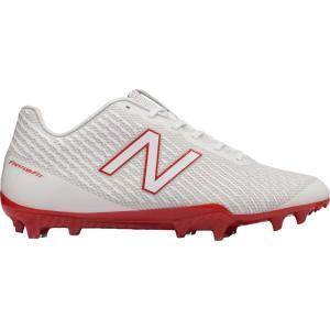 ニューバランス New Balance メンズ シューズ・靴 ラクロス Burn X Lacrosse Cleats White/Red|fermart-shoes