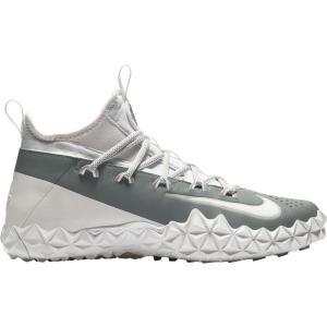 ナイキ Nike メンズ シューズ・靴 ラクロス Alpha Huarache 6 Elite TF Lacrosse Cleats White/Grey|fermart-shoes