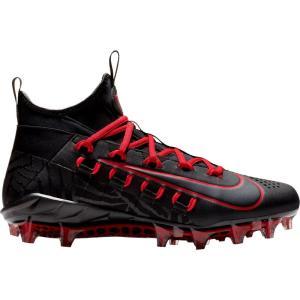 ナイキ Nike メンズ シューズ・靴 ラクロス Alpha Huarache 6 Elite Lacrosse Cleats Black/Red|fermart-shoes